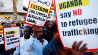 Maandamano yamefanyika nchini Israel kupinga mpango wa kuwaondosha waafrika kuelekea nchini Uganda
