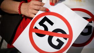 Porland protesters say no to 5G