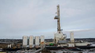 Геотермальная электростанция в Исландии, участвующая в проекте The Iceland Deep Drilling. Март 2017 года.