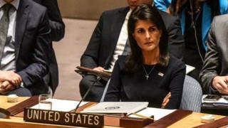 Nikki Haley a déclaré que les Etats-Unis ''ne faisaient plus confiance au gouvernement de Juba''.