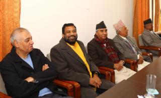 नेपाली कांग्रेसका शीर्ष नेता