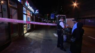 The teenager was found fatally injured on Edgware Road near the junction of Church Street