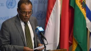 L'ambassadeur éthiopien auprès des Nations-Unies, Tekeda Alemu, estime que la décision de Trump est une porte ouverte à l'extrémisme
