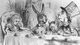 The Mad Hatter 's tea party