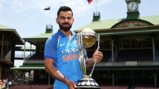 विराट कोहली, VIRAT KOHLI, ICC WORLD CUP 2019, वर्ल्ड कप ट्रॉफ़ी
