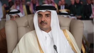 Sarkin Qatar Sheikh Tamim bin Hamad Al Thani