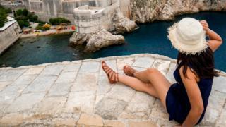 Вид на Дубровник