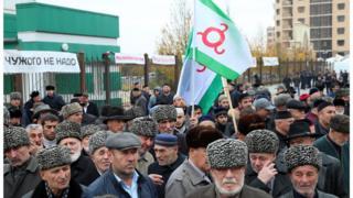 Конституционный суд рассмотрел спор о границе Ингушетии и Чечни