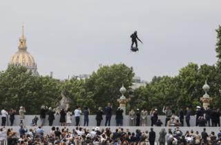 رژه نظامی فرانسه