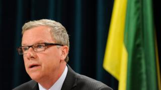Saskatchewan Premier Brad Wall has stepped up to become one of Canada's leading conservatives