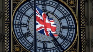 英國國旗和大本鐘