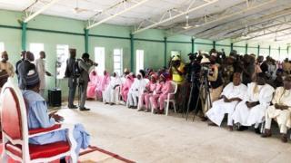 Buhari a Dapchi