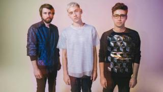 Years & Years (L-R): Mikey Goldsworthy, Olly Alexander and Emre Turkmen
