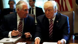 Donald Trump ve Rex Tillerson