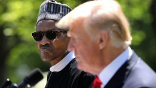 الرئيس النيجيري محمد بخاري أول زعيم أفريقي يزور البيت الأبيض بعد انتخاب ترامب