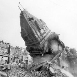 लाहौर का जैन मंदिर जिसे 8 दिसंबर, 1992 को तोड़ दिया गया