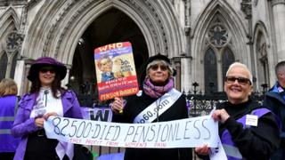 Women lose state pension age appeal against government thumbnail