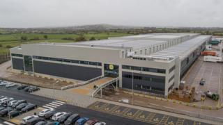 Lidl warehouse in Exeter