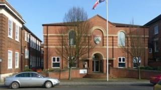 South Kesteven council offices