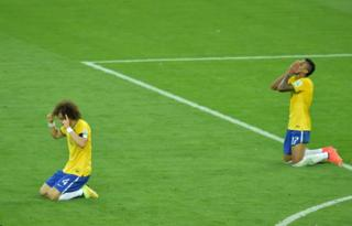 Brazil players unhappy.