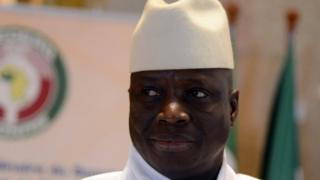 Yahya Jammeh (file photo)