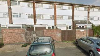 Duston flat where Sandra Thomas died