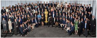 The Oscars class photo