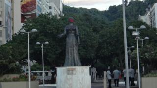 Statue of Princess Isabel of Brazil