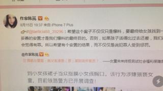 作家陈岚的微博