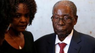 A shekarar 2017 ne aka hambare Mugabe
