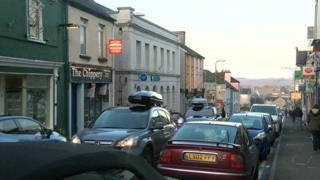 High Street in Llandeilo