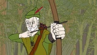 Jeremy Corbyn as Robin Hood