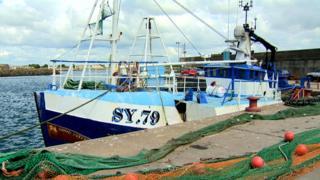 The Good Intent fishing trawler, file pic