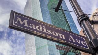 Madison Avenue sign