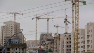 Construction at the Har Homa settlement in East Jerusalem (27 December 2016)