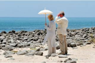 Prince of Wales and the Duchess of Cornwall on the Galapagos Islands