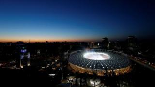 Беттеш украин баш калаасы Киевдеги Олимпиада стадионунда өттү.