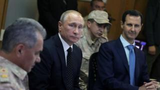Putin'in Esad'a desteği savaşın seyrini değiştirdi