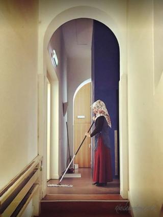 Zeynep, fotoğraf sanatçısı Kees Wennekendonk'un Utrecht Merkez Müzesi'nde açılan sergisinin 'yüzü' oldu.