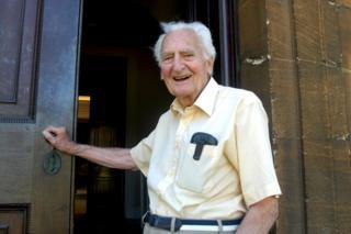 Sir Richard Doll seen in 2004