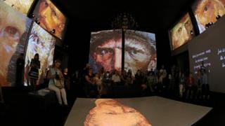 выставка Ван Гога