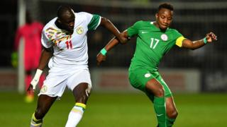 Footbal Sénégal Nigeria