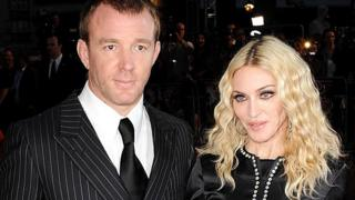 Guy Ritchie and Madonna in 2008