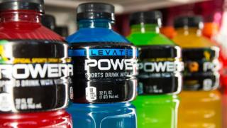 Coke's Powerade sports drink