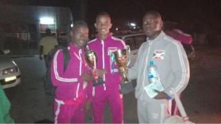 Abo n'abakinyi ba Judo batahukanye ibikombe i Bujumbura isaha zitandatu z'ijoro ku munsi wa gatatu
