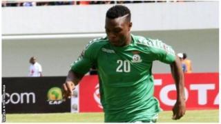 L'attaquant de la Zambie Patson Daka a marqué le premier but de la CAN des U20, face à la Guinée.