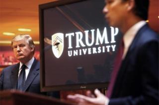Resmi olarak üniversite statüsü olmayan, emlak alanında eğitim programları sunan Trump Üniversitesi, 2005-2010 yılları arasında faaliyet göstermişti.