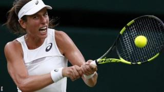 Konta amaze gutsinda urukino rumwe gusa i Wimbledon imbere y'uno mwaka