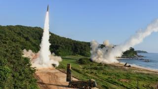 ABD-Güney Kore ortak tatbikatı