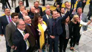SNP councillors in Aberdeen